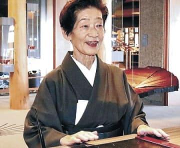 加賀屋女将・小田さん、現代の名工に