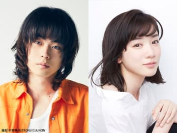 1月スタートの連続ドラマ「3年A組−今から皆さんは、人質です−」に出演する菅田将暉さん(左)と永野芽郁さん=日本テレビ提供