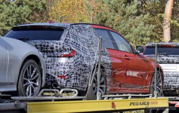 BMW 3シリーズツーリング 次期型プロトタイプを激写。「伝統のあれ」がないようにも見えるが…?