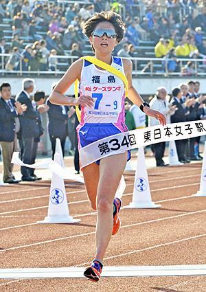 福島県チーム粘って12位 東日本女子駅伝、東京都10年ぶりV