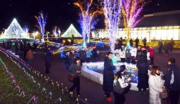 光のイベント、この冬も華やかに 東根・ウインターフェス、12月1日開幕