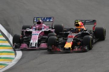 周回遅れのオコン「マックスと接触したあのコーナーは僕の方に権利があった」:フォース・インディアF1ブラジルGP日曜