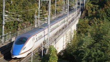 E7系 はくたか 北陸新幹線 高崎 安中榛名 駅弁 Tシャツ 峠の釜めし