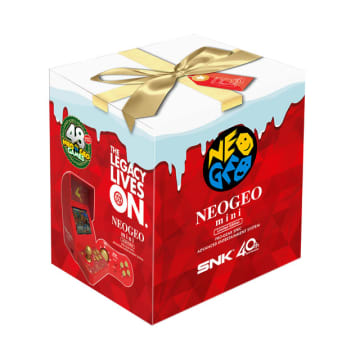 "「NEOGEO mini」のクリスマス限定版が発売決定! 従来版を上回る""48タイトル""を収録"