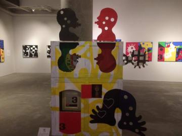 ジョゼ・デ・ギマランイス展~アフリカは魅了する~の展示作品