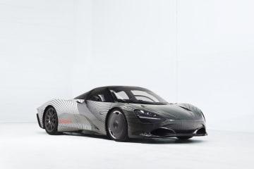 McLaren Speedtailのプロトタイプ「アルバート」