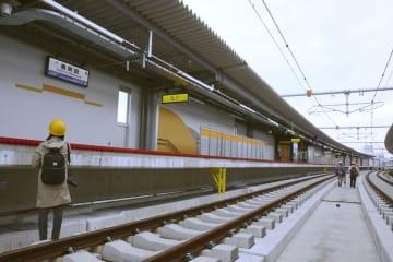 오사카 히가시선 새 역 공개