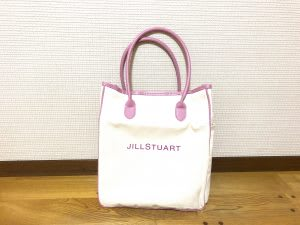 【Sweet12月号付録】くすみピンクが可愛い!『JILLSTUARTビッグロゴトート』は想像以上にビッグで使える