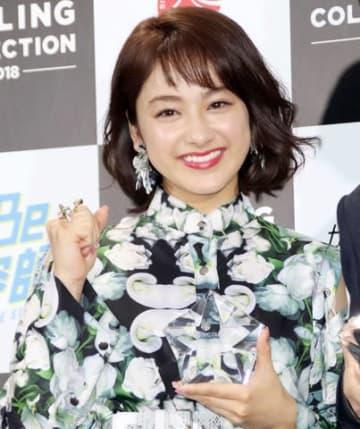 「ベストスタイリングアワード2018」授賞式に登場した平祐奈さん