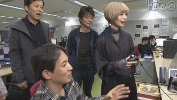 「かんさい熱視線『俺たちは世界を目指す~大阪発!ゲーム最前線~(仮)』」=NHK提供