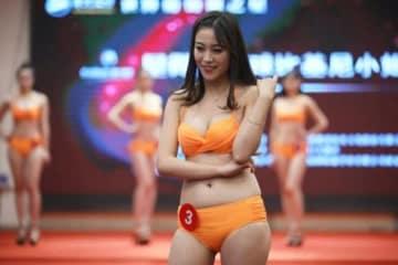 美女たちが結集!南京で「ミスビキニインターナショナル」の予選―中国