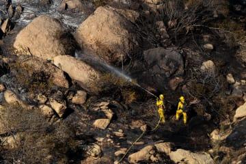 米カリフォルニア州で山火事、相次いで発生