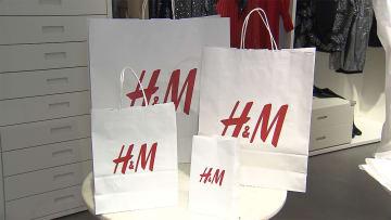 「脱プラ」加速で代替素材に商機 H&M 紙製袋へ