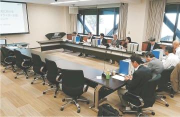 ILC誘致の妥当性を審議する日本学術会議の検討委=10月16日、東京・六本木の日本学術会議