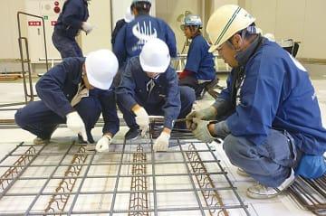 関西鉄筋工協組など4団体/工業高生対象に「出前講座」