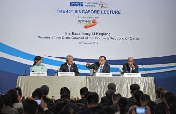 李克強総理、「シンガポール·レクチャー」で基調講演