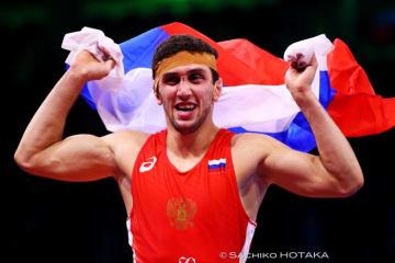 <レスリング>【2018年世界選手権・レビュー(5)】男子フリースタイル74kg級/決勝・表彰式・闘いのあと