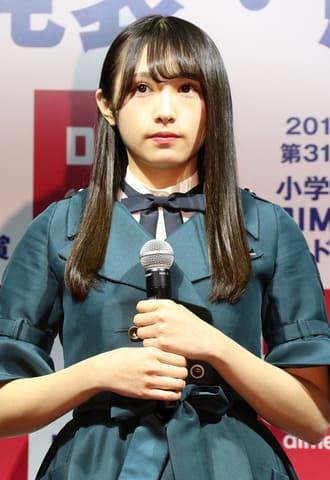 「2018 第31回小学館DIMEトレンド大賞」の発表・授賞式に登場した欅坂46の渡辺梨加さん