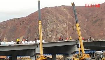 北朝鮮と中国を結ぶ新橋梁、完成間近