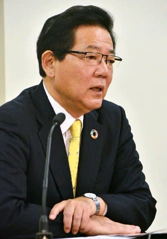 【福岡】北九州市長選4選出馬正式表明の北橋氏 「日本一住みよい街を」 市政の課題解決に意欲