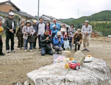 朝倉・被災地ツアーに関心 九州豪雨被災住民と家や農地巡る 定員超や追加実施 [福岡県]