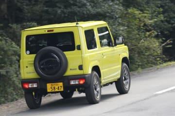 スズキ 新型ジムニー XC(5MT) ボディカラー:キネティックイエロー