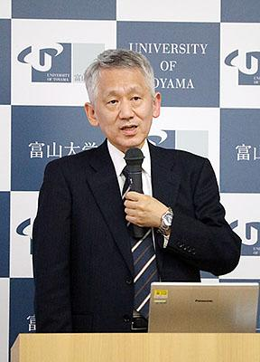 ノーベル賞の田中さん授業 富山大