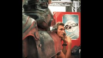 『Fallout 76』発売記念?フォーミュラEが面白映像配信―パワーアーマーも登場!