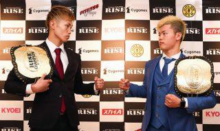 3年前にKO負けを喫した那須川(右)にリベンジマッチを挑む内藤(左)