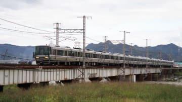 223系電車 新快速 山陽本線 御着 東姫路 弁当 駅弁 陣太鼓牡蠣ごはん弁当 赤穂浪士