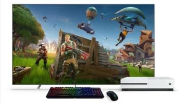 Xbox One本体アップデートでマウス・キーボード正式サポート!『フォートナイト』でも使用可能