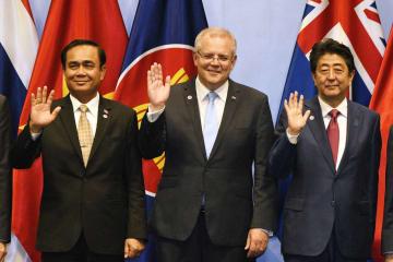 第2回RCEP首脳会議がシンガポールで開催