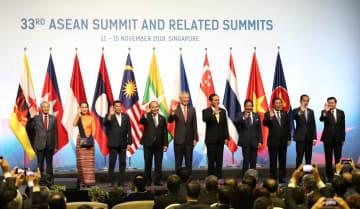 第33回ASEAN首脳会議が開幕 「粘り強さとイノベーション」テーマに統合を推進