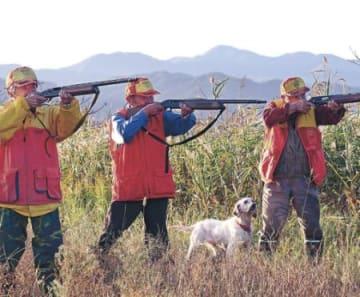 狩猟解禁、暁の号砲