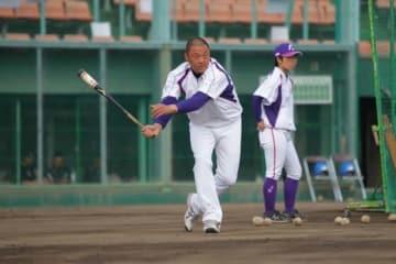 京都フローラ・川口知哉監督【写真提供:日本女子プロ野球リーグ】