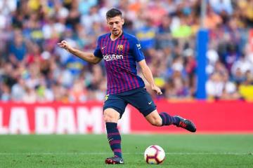 今季からバルセロナでプレイするラングレ photo/Getty Images