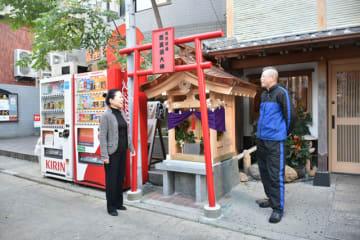 三十数年ぶりに造り替えられた恵美須大神社殿