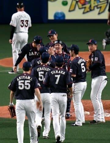 侍J白星締め!MLBに6戦5勝 稲葉監督「若手が堂々」東京五輪へ収穫