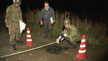 迫撃砲事故は「人的ミス」か 未発見の2発も発見