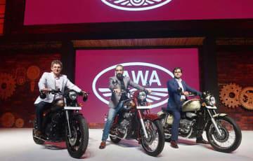 クラシック・レジェンズが「JAWA」ブランドの二輪車を発表した(同社提供)