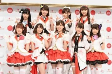 「第69回NHK紅白歌合戦」に出場が決まったAqoursのメンバー