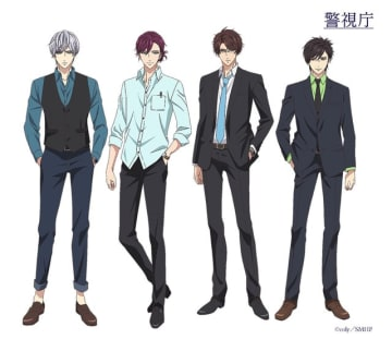 TVアニメ『スタンドマイヒーローズ PIECE OF TRUTH』警視庁捜査一課(C)coly/SMHP(C)coly