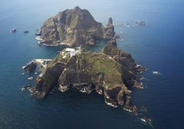 島根県の竹島=2012年(聯合=共同)