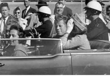 ジョン・F・ケネディ大統領(AP/アフロ)
