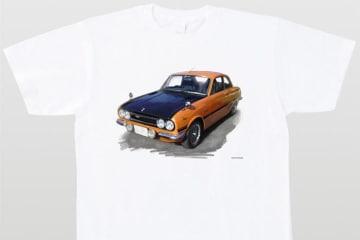 POPEYEで連載された横山剣氏の人気コラム『僕の好きな車』に登場する車イラスト全71種がTシャツ化