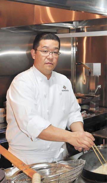 料理マスターズに県内で初めて選ばれた黒森さん