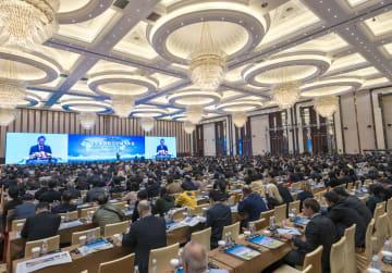 鳩山元首相、中国国際友好都市大会に出席 地方協力強化呼びかけ