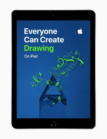 Apple、クリエイティビティを育める無料教材「Everyone Can Create」の日本語版を提供開始
