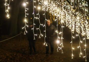 「クリスマスガーデン·ベルリン」イルミネーション始まる