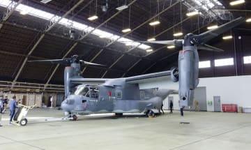 U.S. Ospreys at Yokota base